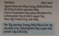 Full fat soft cheese - Voedingswaarden - en
