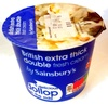 British extra thick double fresh cream - Product