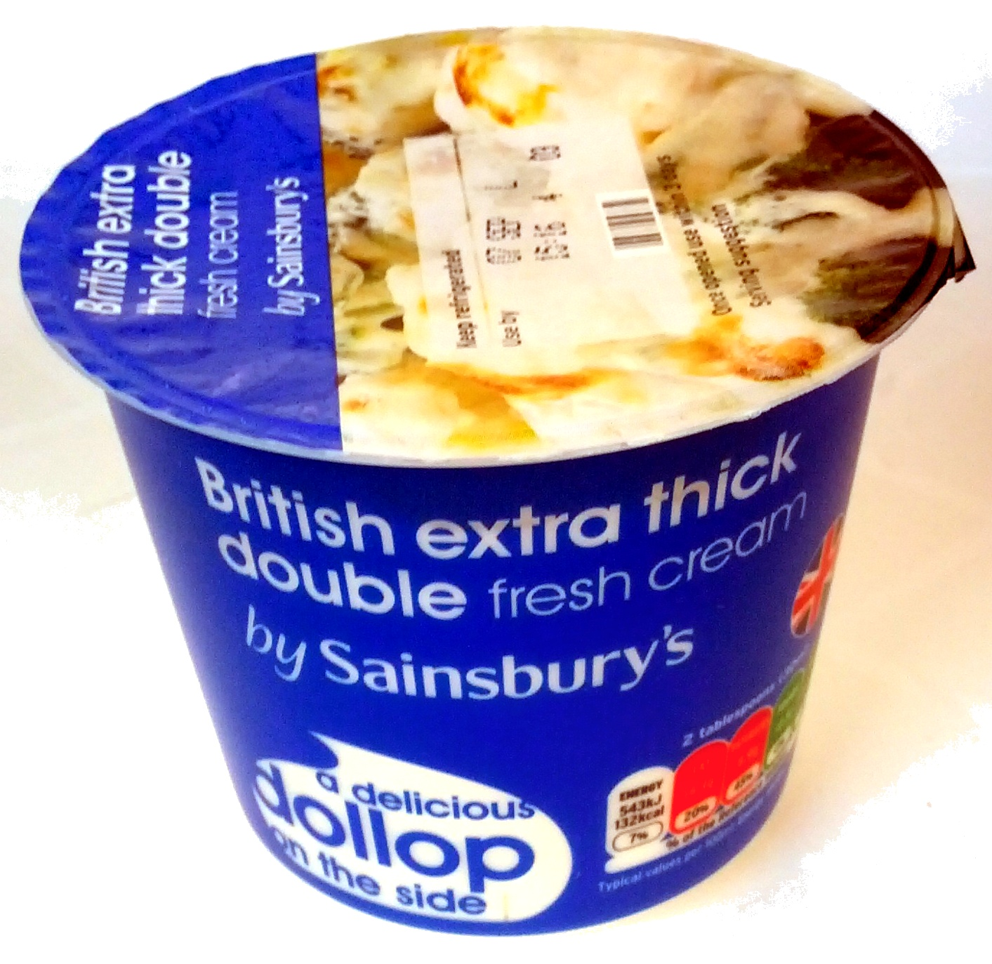 British extra thick double fresh cream - Product - en
