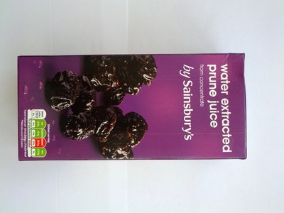 Water extracted prune juice from concentrate - 1