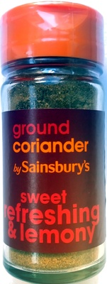 Ground coriander - Product