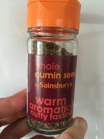 Whole cumin seeds - Product