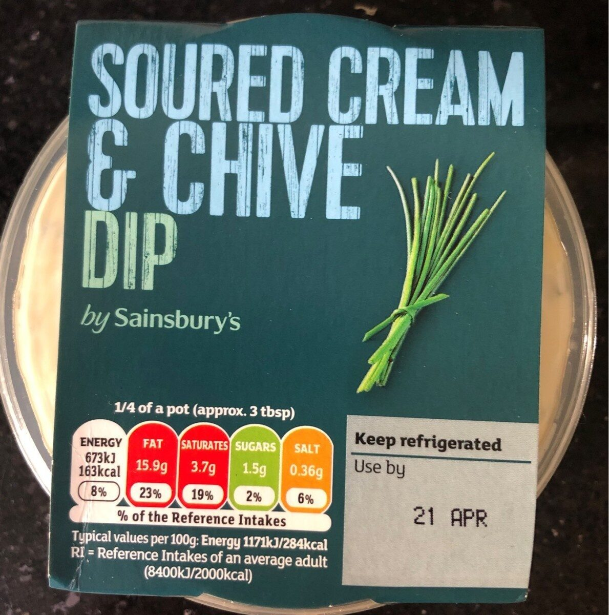 Soured cream & chive dip - Product - en