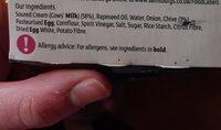 Soured cream & chive dip - Ingrediënten - en