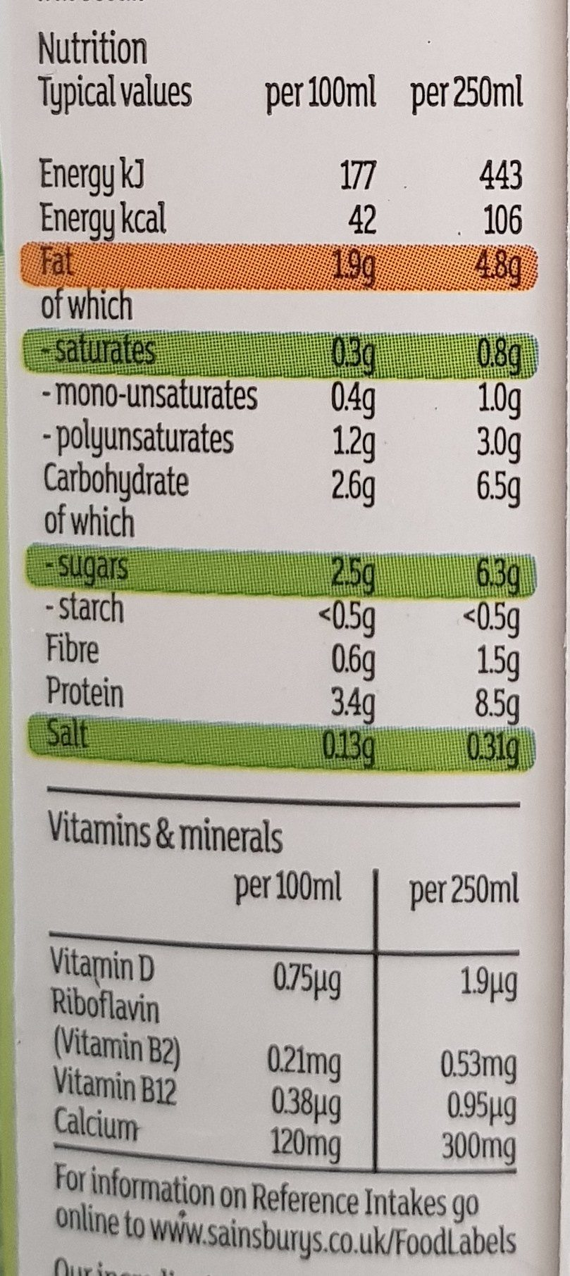 Dolmio Plant Based Bolognese - Nutrition facts - en