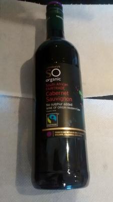 Sainsbury's Cabernet Sauvignon, SO Organic - Product - en
