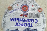 Творог с вареньем черничным 9% - Ingrediënten - ru