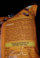 nouilles de blé instantanées asiatiques - Ingrédients - fr