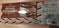 Bake at Home Brown Baguettes - Prodotto - en