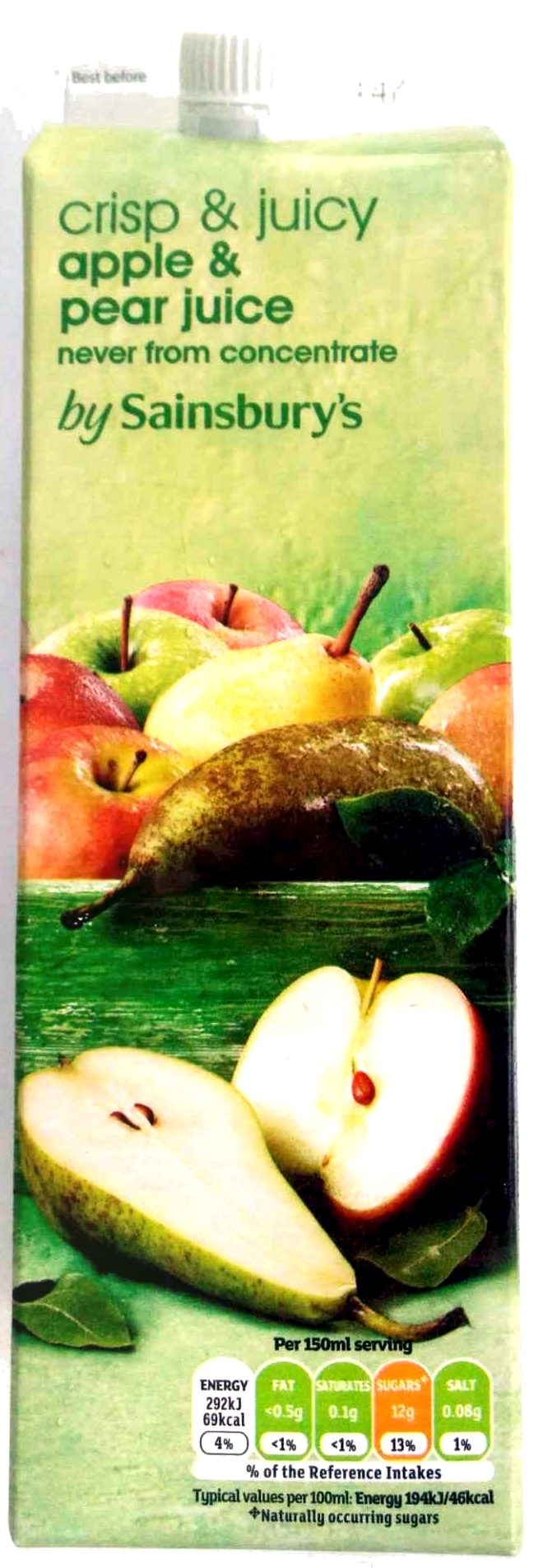 apple & pear juice - Produit - en