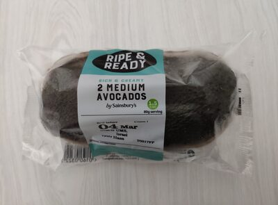 Ripe & ready medium avocados - 6