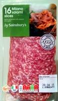 16 milano salami slices - Produit - en