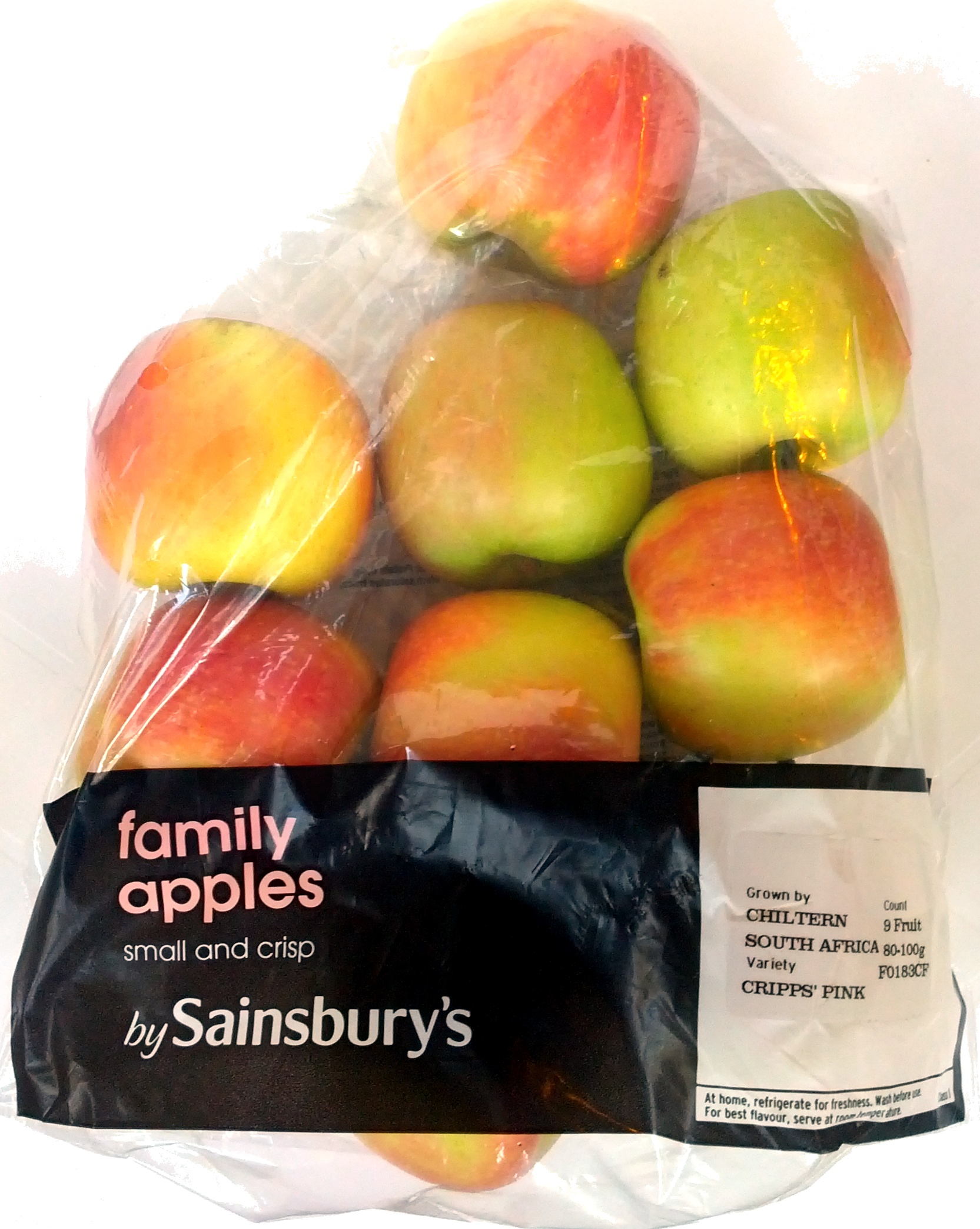 Family apples - Product