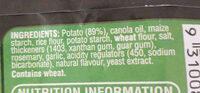 Deli Roast Potatoes - Ingredients