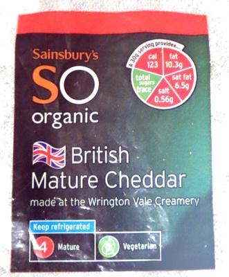 British Mature Cheddar - Product