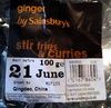 ginger stir fries & curries - Product
