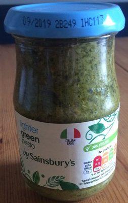 Lighter green pesto - Produit