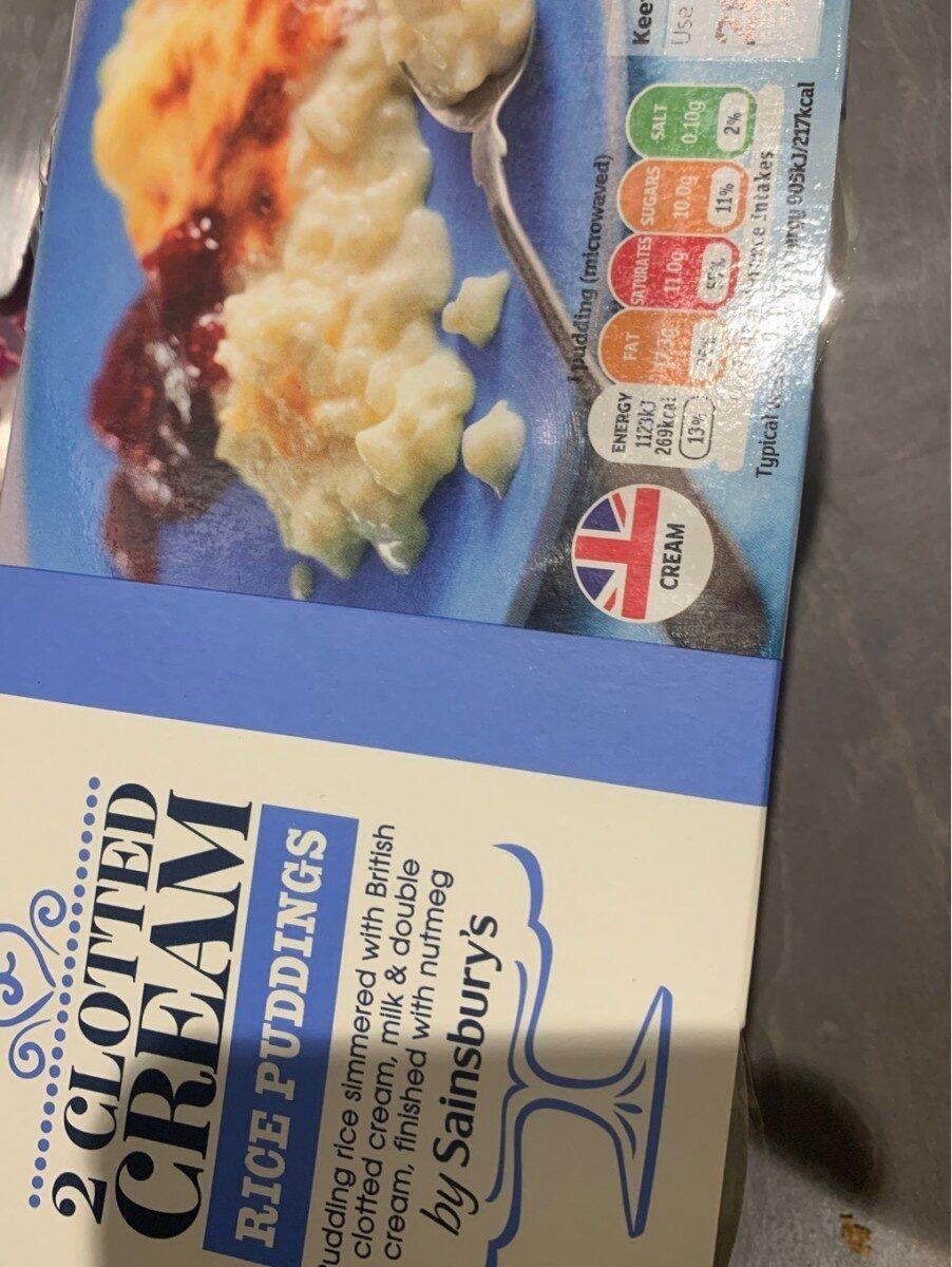 Rice pudding - Produit - en