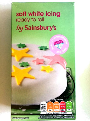 Soft white icing - Product - en