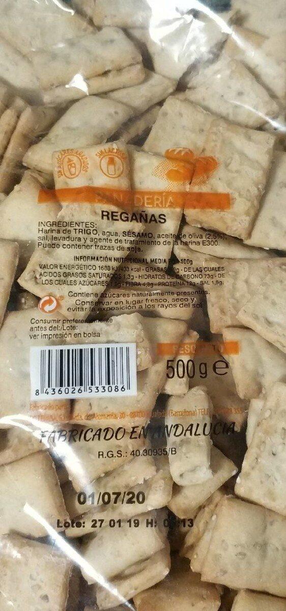 Regañas (panadería) - Prodotto - es