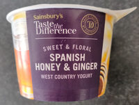 Spanish honey & ginger - Product