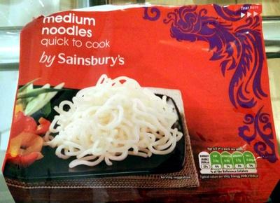 Quick cook medium noodles - Produit - en