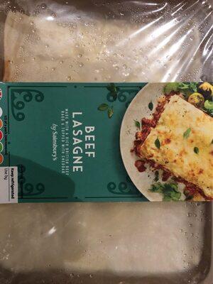 Beef lasagne - Produit - en