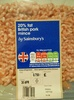 20% fat British pork mince - Product