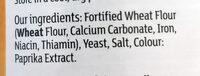 Golden Breadcrumbs - Ingredienti - en