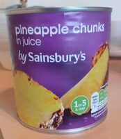 Pinapple chunks in juice - Product - en