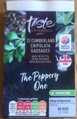 Cumberland Chipolata Sausage - Product - en