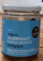 Choucroute organigue - Product - fr
