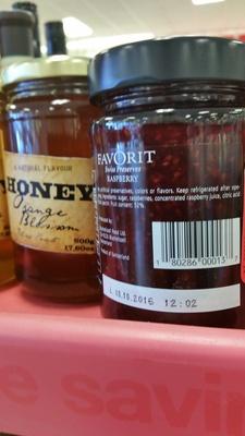 Favorit, Swiss Preserves, Raspberry - Product