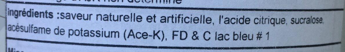 Xtend - Ingrediënten - en
