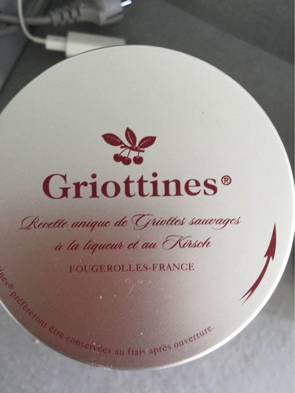 Griottines - Product - fr