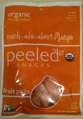 Organic mango gently dried fruit, mango - Product - en