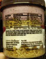 Black Raspberry Vanilla Parfait - Ingredients