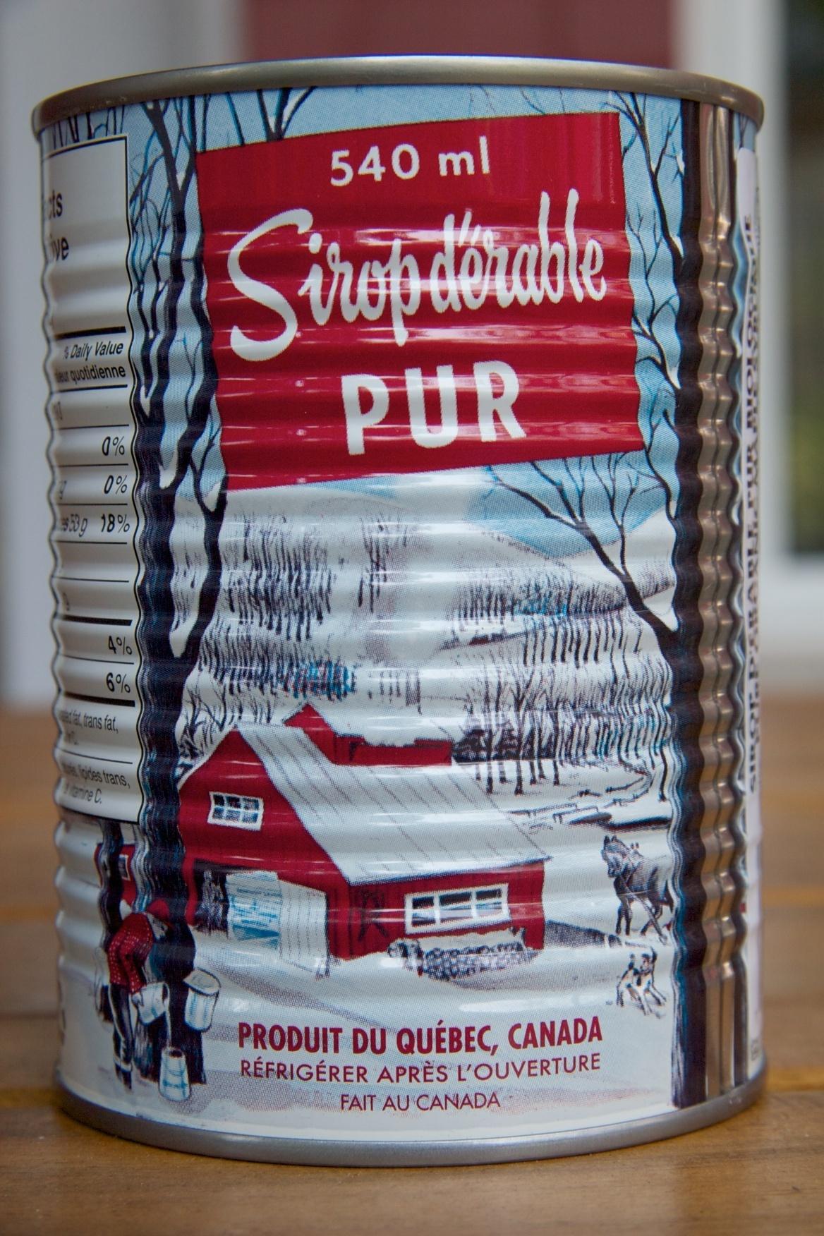 Sirop d'érable pur biologique Escuminac - Product - fr