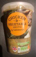 Chicken & Vegetable broth - Produit