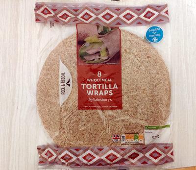 Wholemeal Tortilla Wraps - Prodotto - en