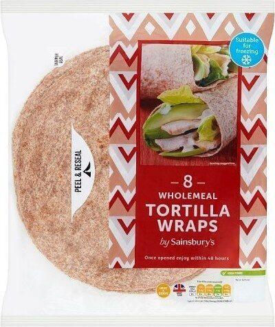 Wholemeal Tortilla Wraps - Produit - fr