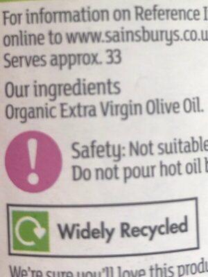 Extra virgin olive oil - Ingredienti - en