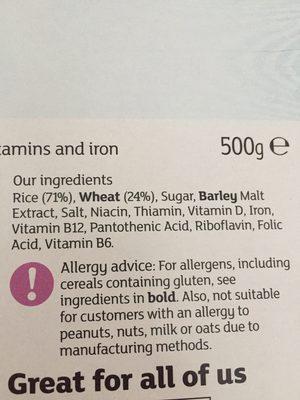 Balance - Ingredients