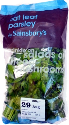 flat leaf parsley - Produit - en