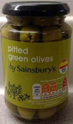 Pitted Green olives - Prodotto - en