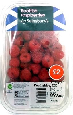 Raspberries by Sainsbury's - Produit - en