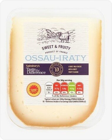 Taste the Difference Ossau-Iraty - Product - en