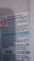 Sainsbury's Spanish Manchego, Taste the Difference - Ingredients
