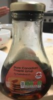 Pure canadian maple syrup - Produit - fr