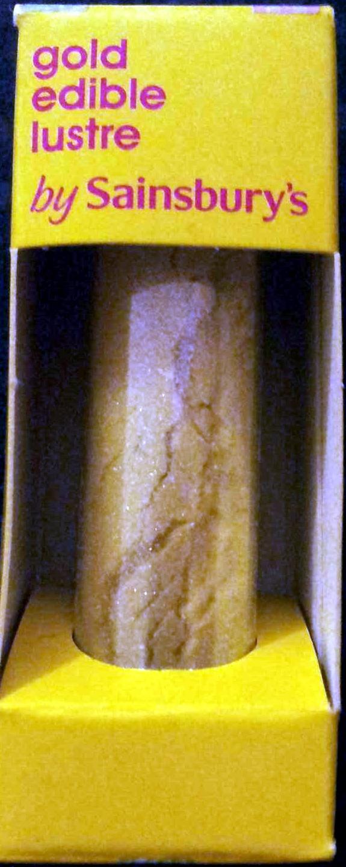 Gold edible lustre - Produit - en